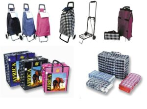 Shopping Bags & Trollies