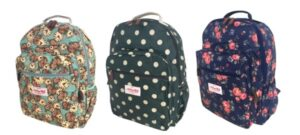 Notting Hill - Printed Canvas Backpack Range